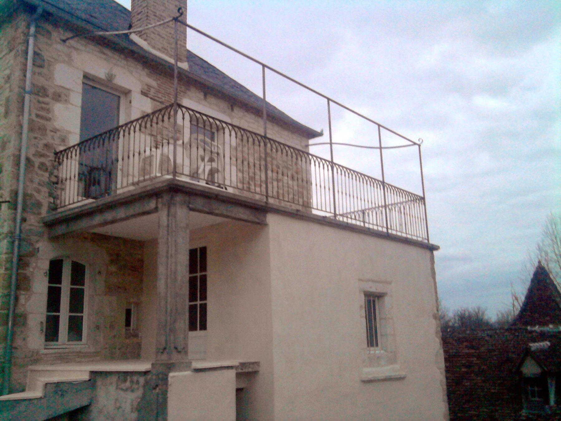 fer-forge-balcon-terrasse | Ets JOUVENEL Fils – Altillac (Corrèze)